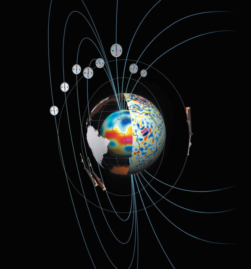 نقشه برداری-میدان مغناطیسی-زمین