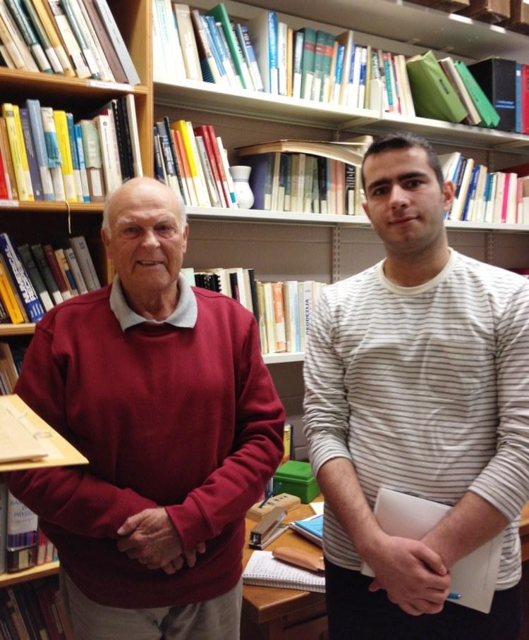اسماعیل فروغی,پروفسور ونیچک,مصاحبه آپسیس
