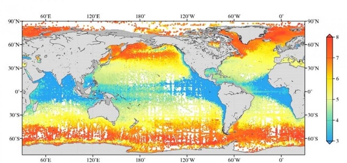 World Ocean Atlas,فیزیک دریا,سایت NOAA,متوسط آماری دمای اقیانوس,مشاهدات شوری سطح اقیانوس,متوسط سالیانه اکسیژن حل شده,اطلس های اقیانوسی,پارامترهای دما و شوری