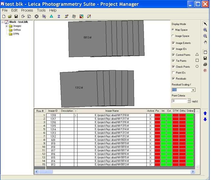 BLK,prj ,نحوه تشکیل پروژه در نرم افزار LPS,فتوگرامتری,LPS,