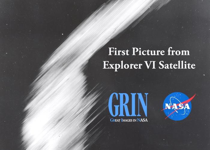 NASA,ناسا,اولین تصویر ماهواره ای,Explorer 6,