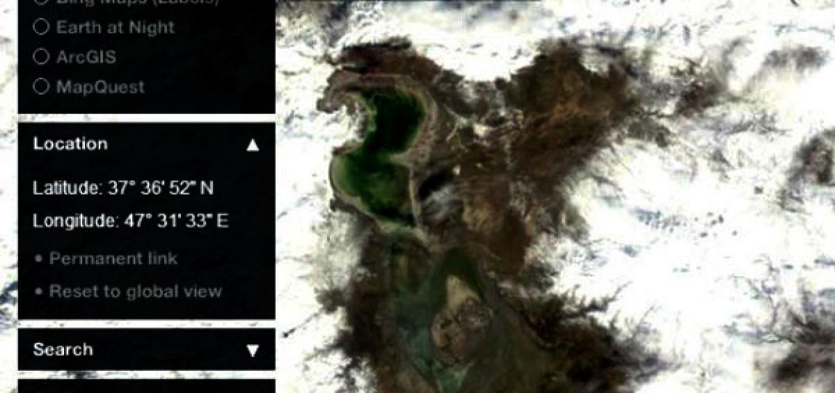 تراز سطح آب دریاچه ارومیه ۴۴ سانتی متر افزایش یافت,دریاچه ارومیه,نسیم آنلاین,نزولات جوی ,بروز خشکسالی