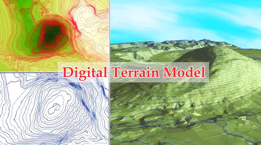 مدل رقومی سطح زمین