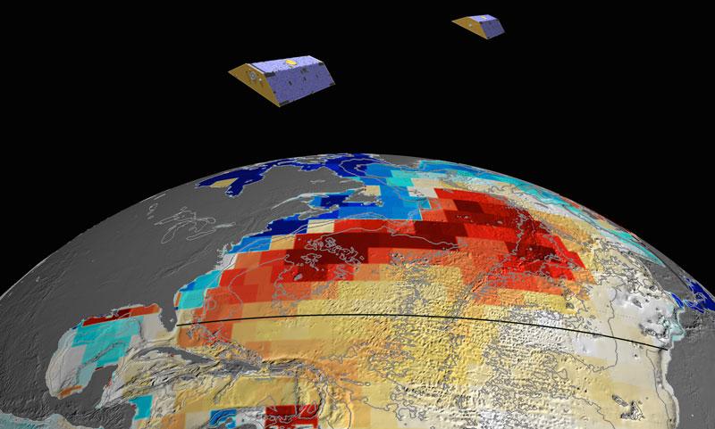 ماهواره های GRACE