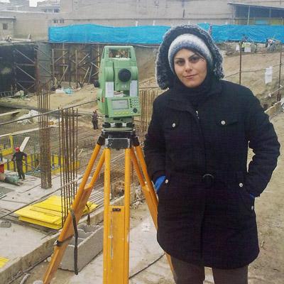 نظارت نقشه برداری پروژه مرکز تجاری پارسا-شیروان-خراسان شمالی