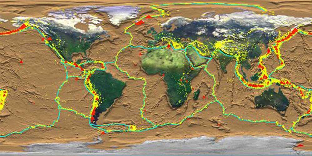 کارگروه تخصصی زلزله و لغزش لایه های زمین,سازمان نقشه برداری کشور
