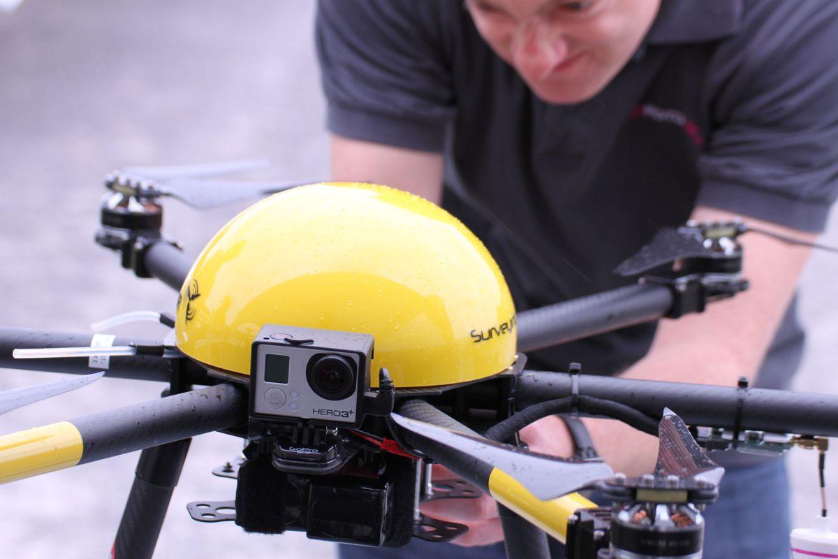 پهپاد فتوگرامتری مالتی روتور UAV