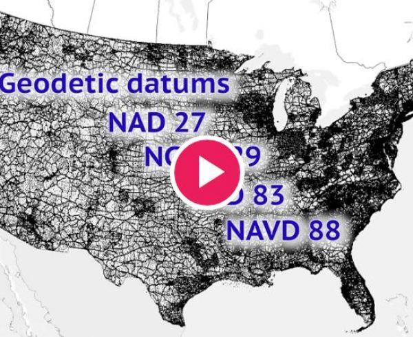 دیتوم ژئودتیک ژئودزی نقشه برداری ایالات متحده