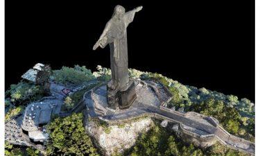 نقشه برداری با پهپاد - تندیس میسح - ریو دو ژانیرو