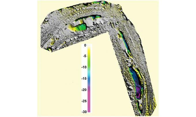 نقشه برداری با پهپاد - معدن چوکی کاماتا