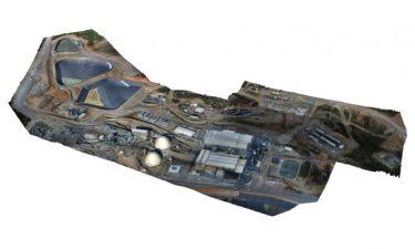 نقشه برداری با پهپاد - معدن