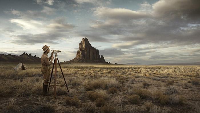 اریک الماس و پروژه عکاسی نقشه بردارها