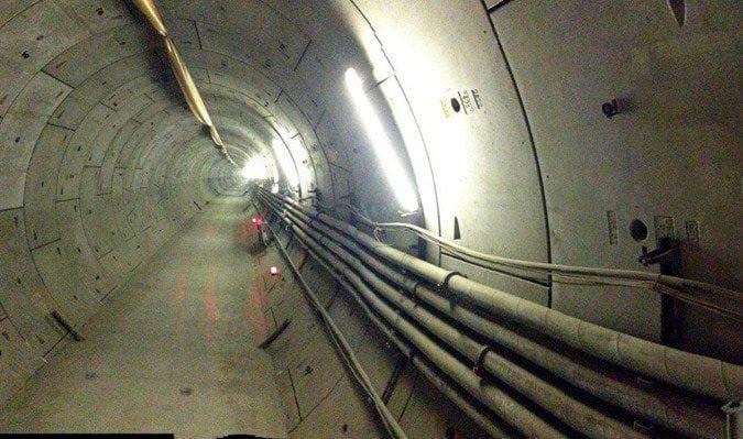 نقشه برداری تونل