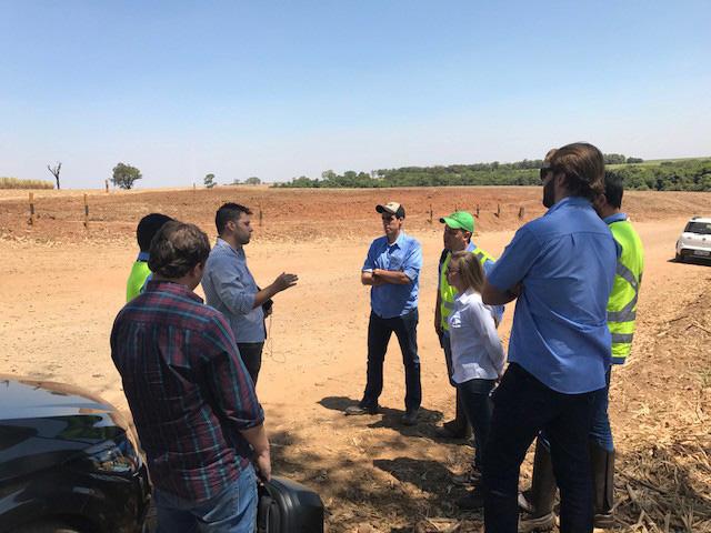 نمایندگان شرکت کشاورزی صنعتی Ipiranga