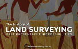 تاریخچه نقشه برداری زمینی