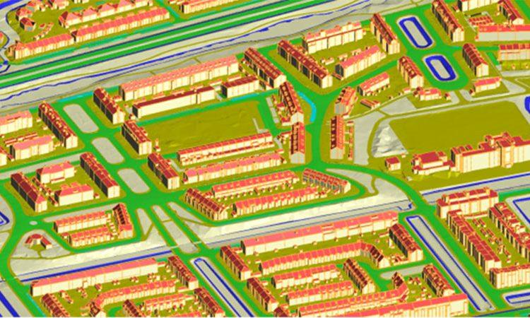 تولید نقشه های سه بعدی با کیفیت بالا از داده های لیدار