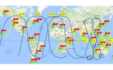 تعیین موقعیت دقیق از طریق ترکیبی از روش های مختلف GNSS