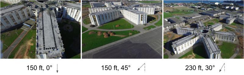 تصاویر نمونه از سه پرواز Jeff