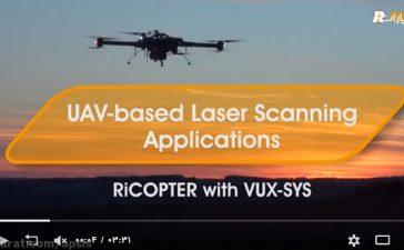 سنجنده لیداری- پهپادی RIEGL VUX-1