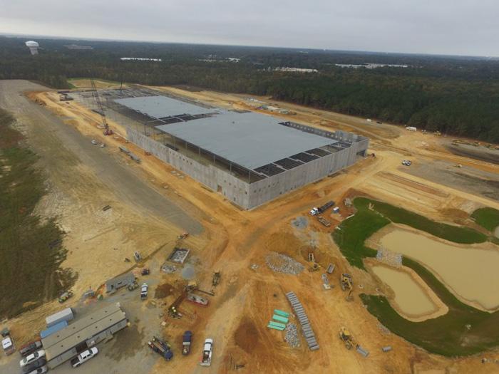 واحد تولیدی 55755 مترمربعی در نیمه راه ساخت و ساز