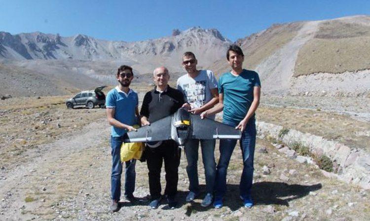 بکارگیری تصویربرداری پهپادی برای نقشه برداری از کوهستان ها