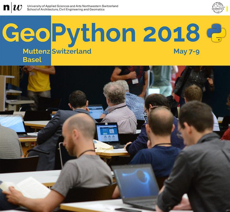 کنفرانس سه روزه – 7 تا 9 می ژئوپایتون 2018