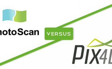 نکاتی درباره تفاوتها و مزایا و معایب photoscan با pix4d mapper