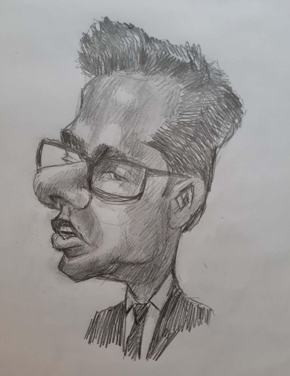 کاریکاتور مهندس محمد میرزاعلی