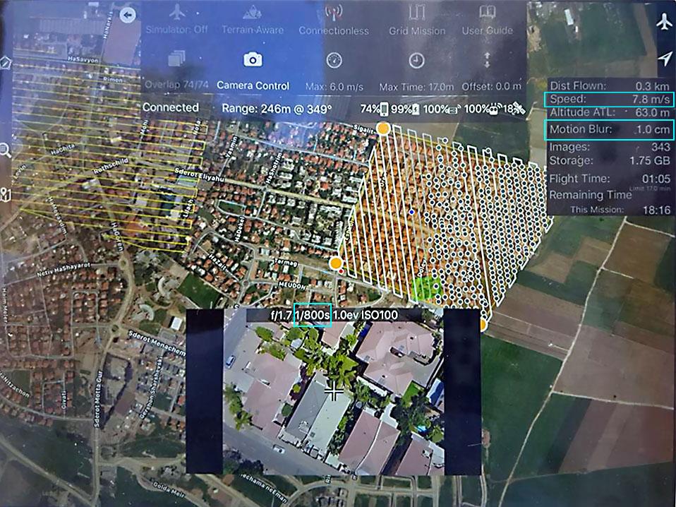 اسکرین اپلیکیشن طراحی پرواز مپ پایلوت